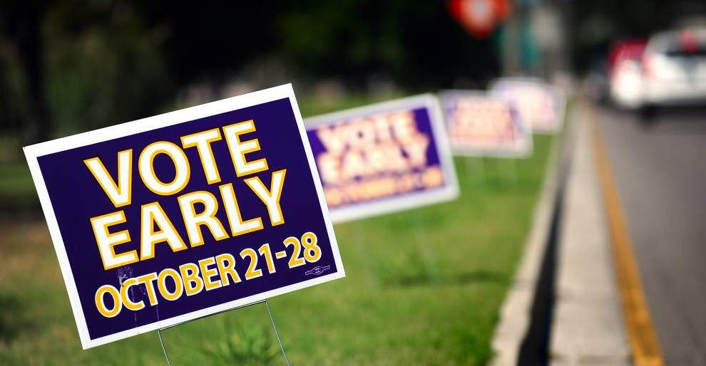La. early-voting totals: Orleans, East Baton Rouge parishes lead early vote tallies; see vote breakdowns by political parties _lowres