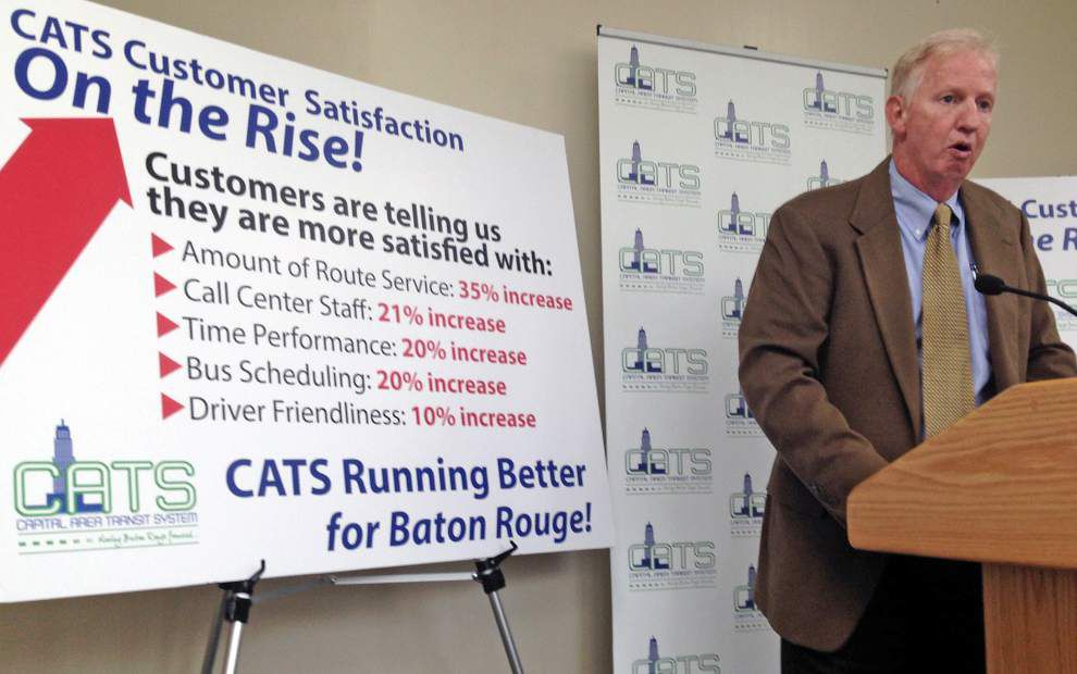 Capital Area Transit System survey: Number of Baton Rouge bus riders satisfied with system soaring _lowres