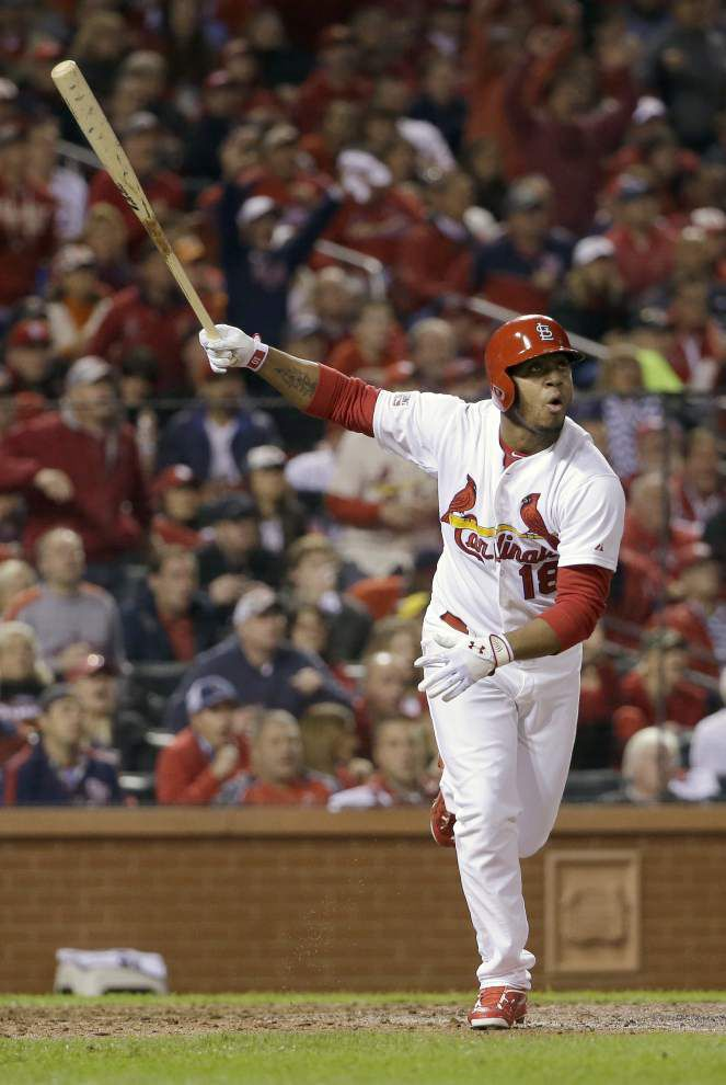 Kolten Wong's homer gives Cardinals 5-4 win, knots NLCS _lowres