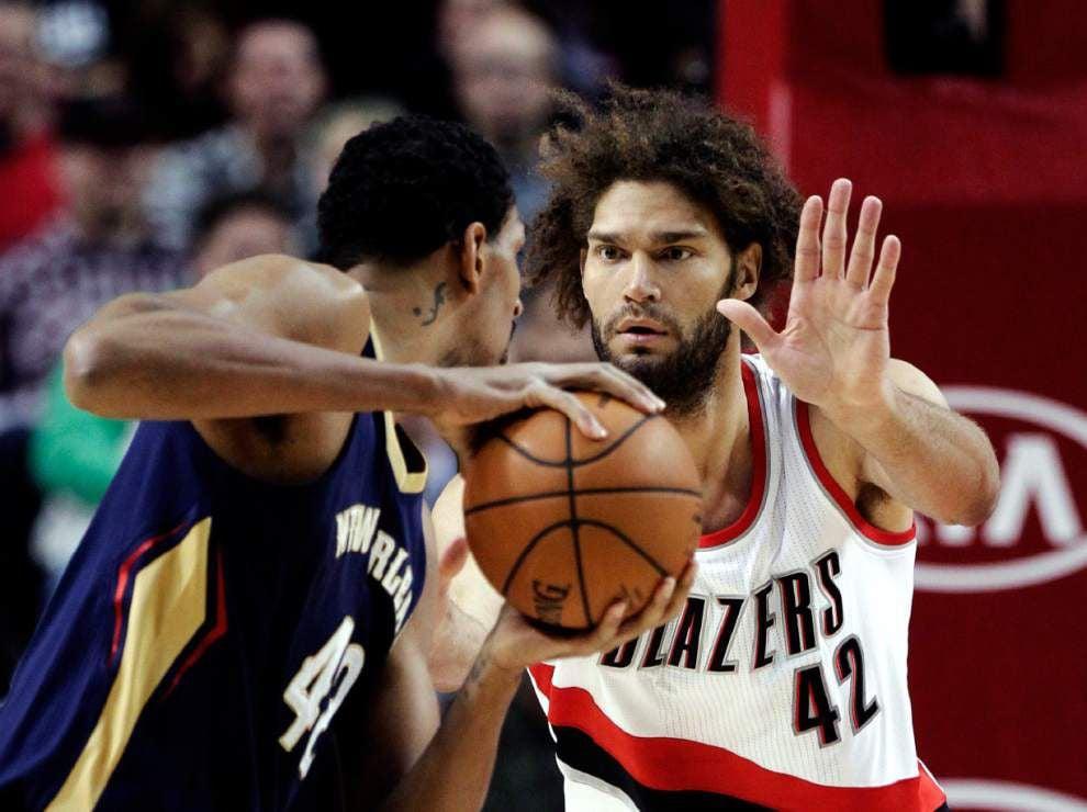 Trail Blazers rally past Pelicans to overshadow Anthony Davis' big night _lowres