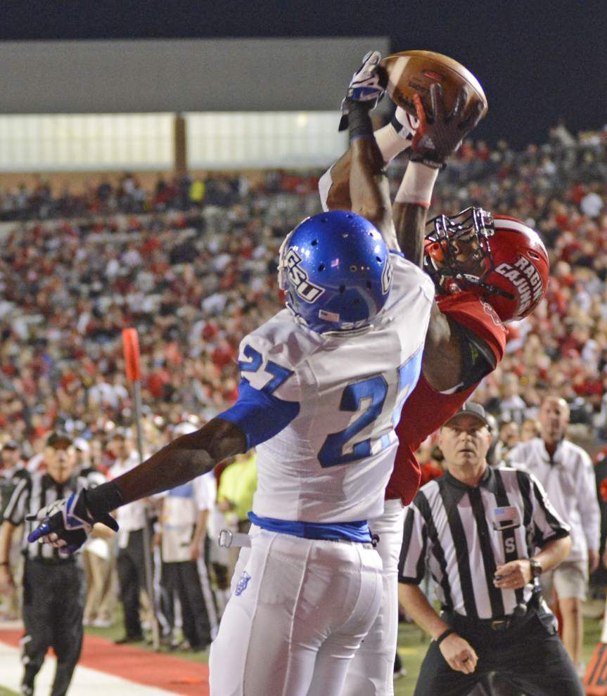 Cajuns notebook: Wide receiver depth remains a concern _lowres