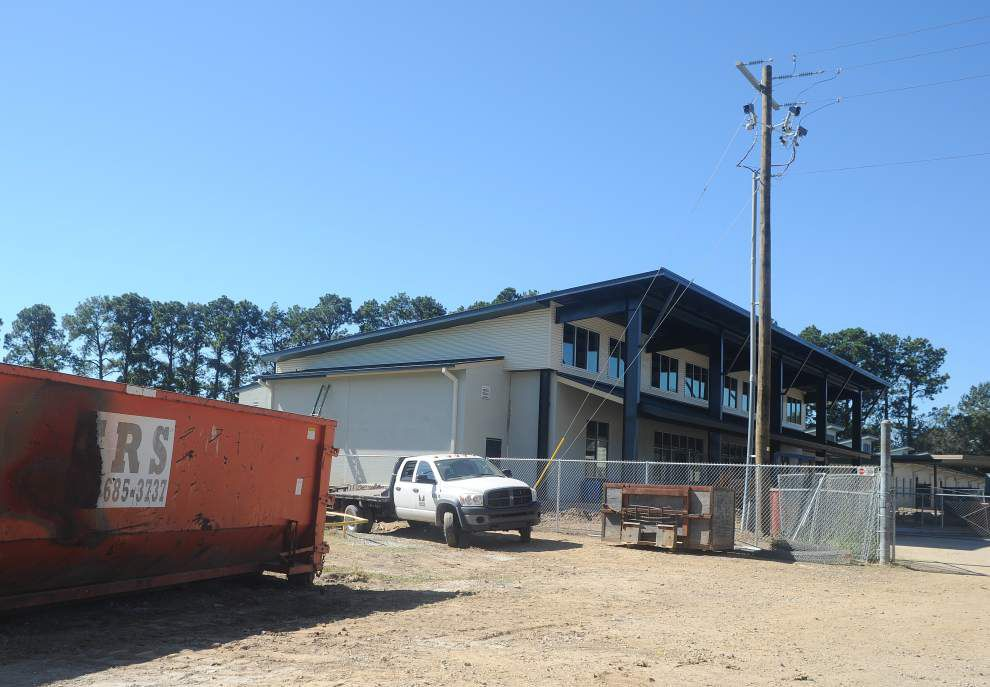 Construction nearly done on additions to Youngsville school campus _lowres