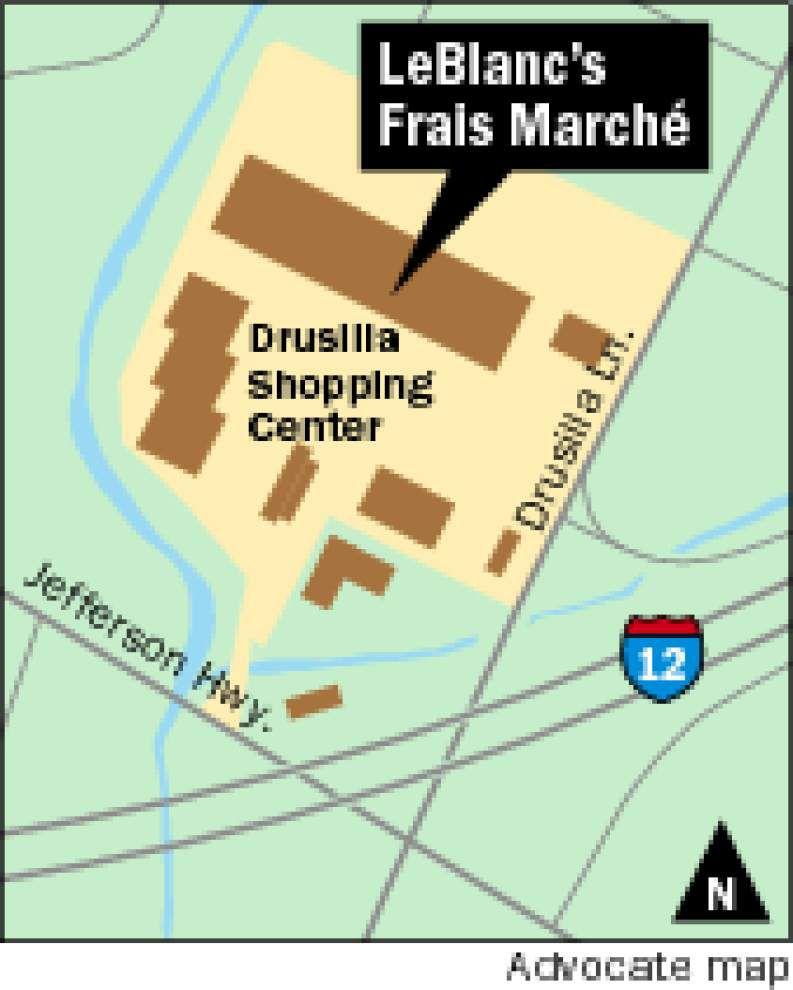 LeBlanc's Frais Marche opening in Drusilla Village _lowres