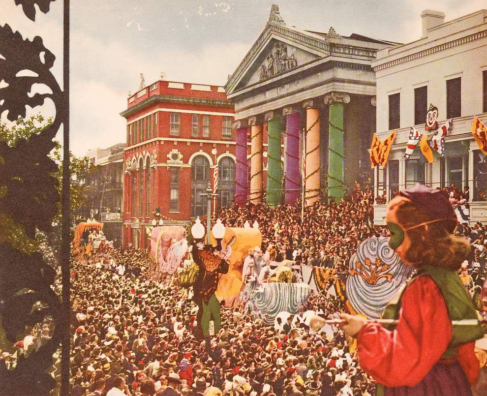 Gallier Hall's role in Carnival history dates back to 1857 _lowres