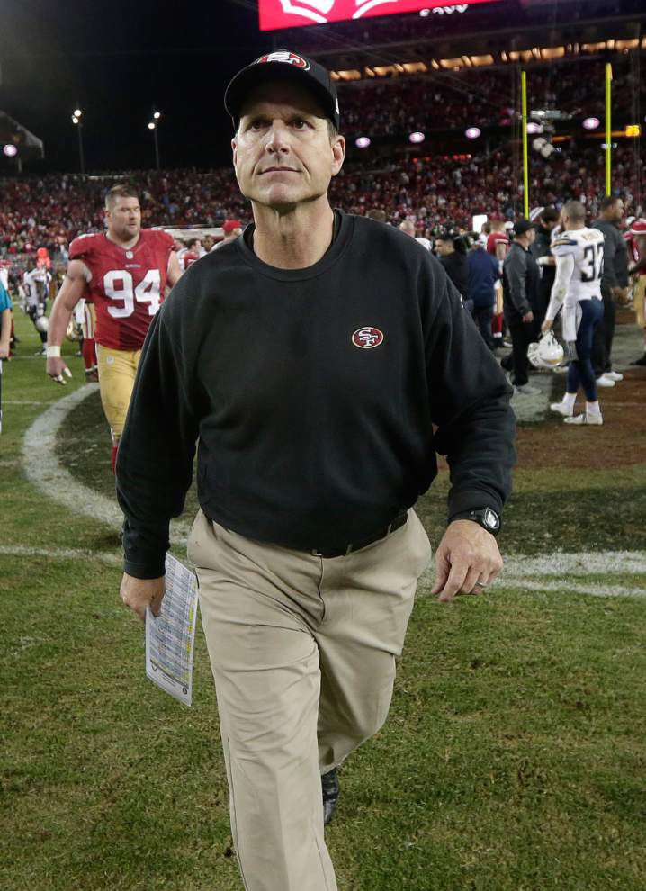 Report: Harbaugh may take Michigan job _lowres