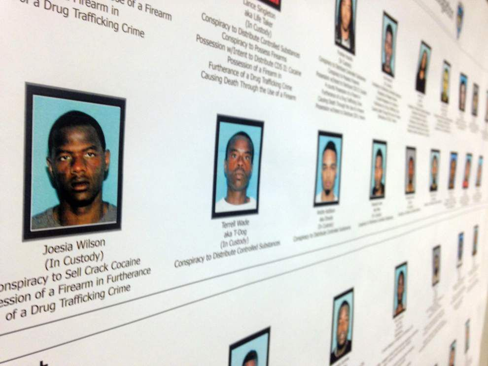 Indictment outlines case against violent Harvey Hustlers gang _lowres