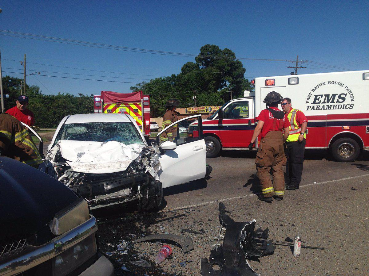 One killed in head-on crash at Airline Highway and St ...