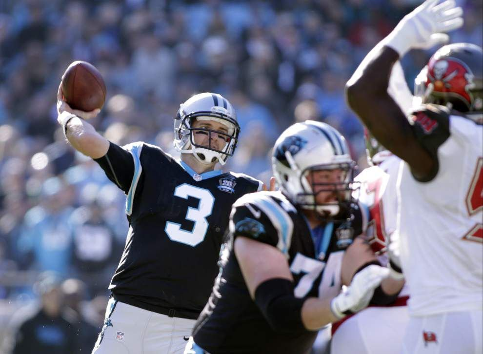 Panthers reshape NFC South race with win over Falcons _lowres