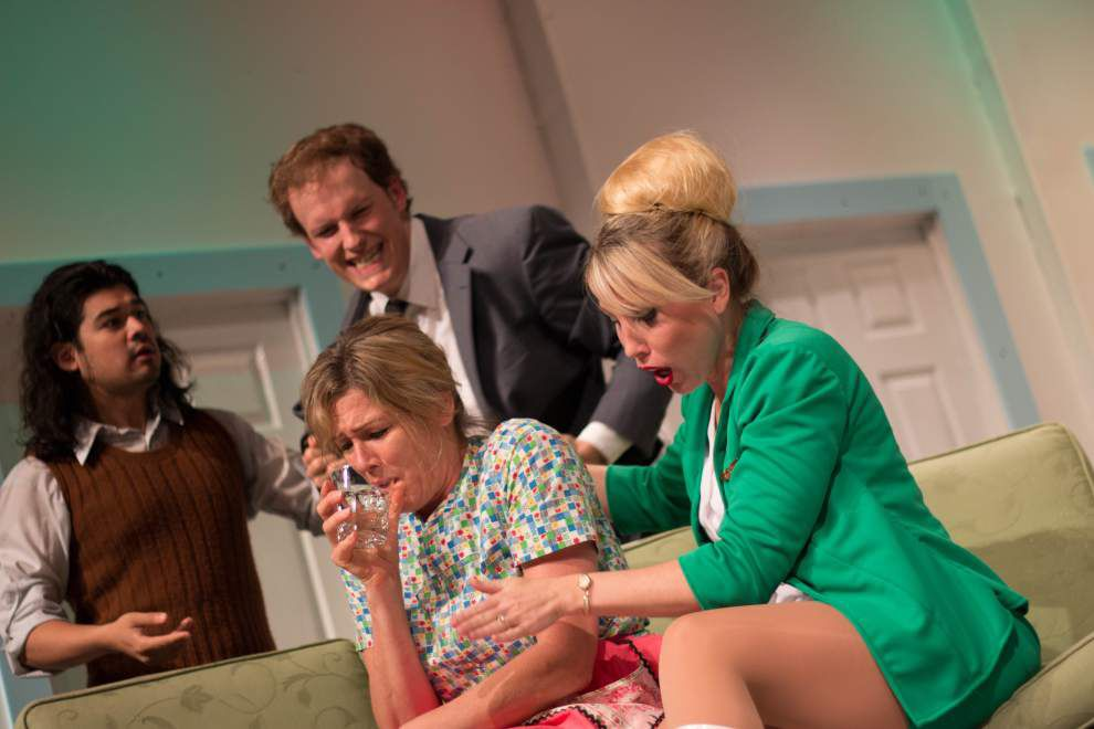 Plane Janes: Theatre Baton Rouge comedy 'Boeing-Boeing' soars with solid acting and lots of laughs _lowres