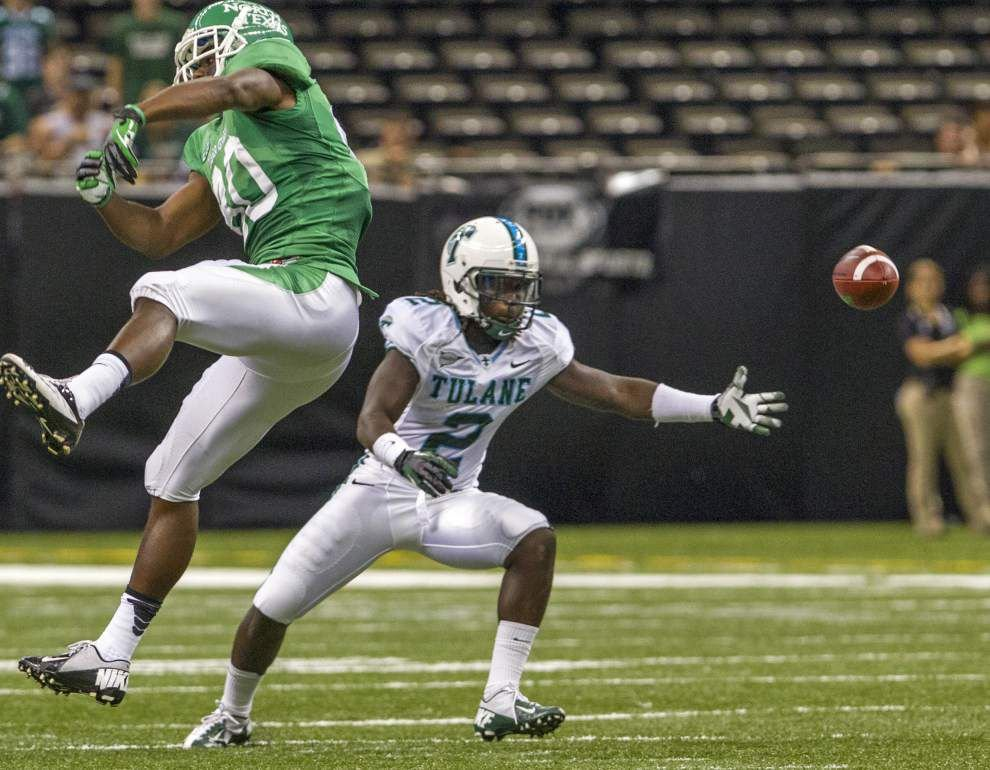 On the move: Tulane safety Darion Monroe will play nickel corner is some situations _lowres