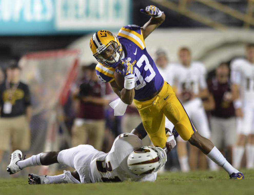 Photos: LSU Tigers ULM Warhawks _lowres