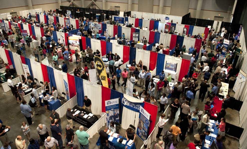 Annual Lafayette job fair draws 2,700 job seekers _lowres