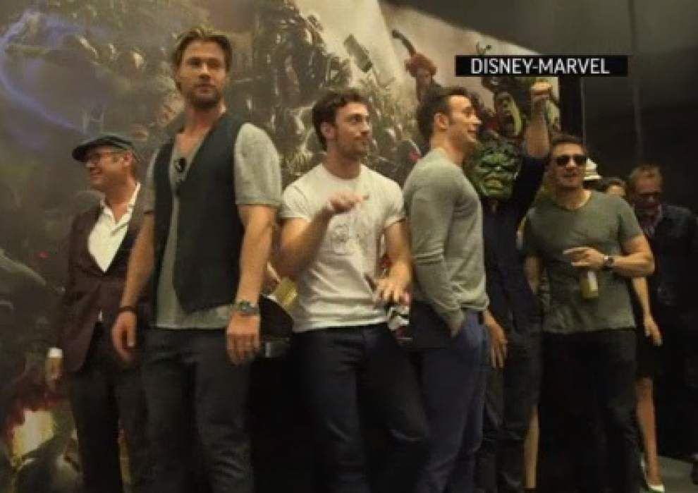 'Avengers' ponder their popularity _lowres