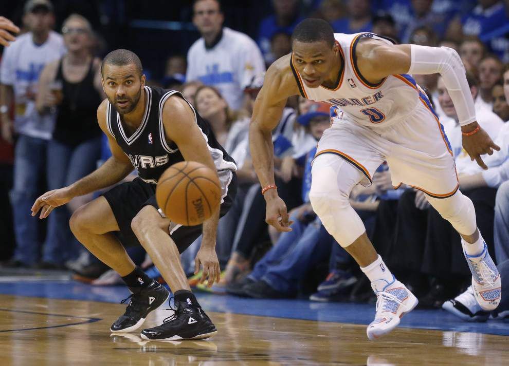 Oklahoma City ties series; Westbrook hits 40 points in win _lowres