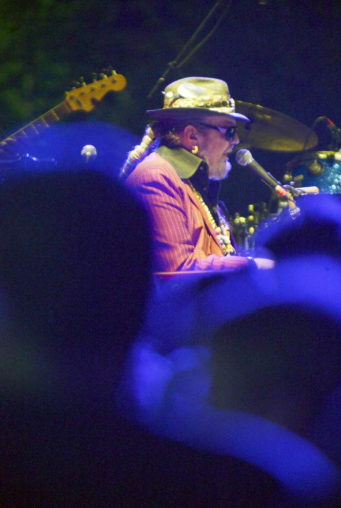Blues Festival coup, Dr. John, gets BR moving _lowres