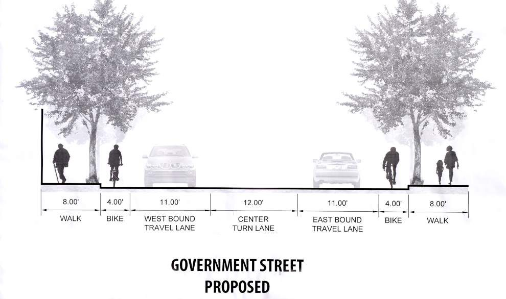 Some business owners consider Government Street restructuring plan bizarre, backwards _lowres