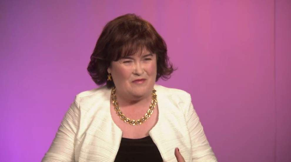 Susan Boyle on first U.S. tour, success _lowres