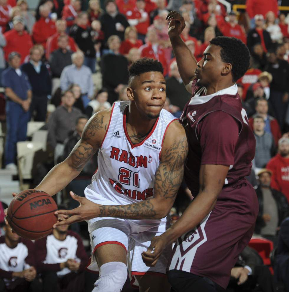 Ragin' Cajuns' Shawn Long, Jay Wright receive All-Sun Belt Conference honors _lowres
