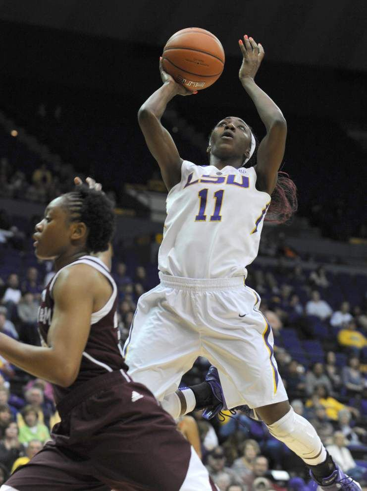 DaShawn Harden powers LSU women past No. 12 Texas A&M 80-63; Lady Tigers score No. 4 seed and double-bye in SEC tournament _lowres