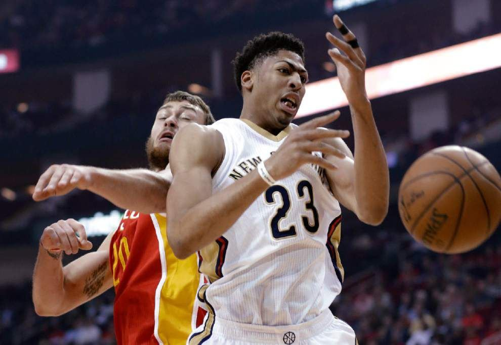 Pelicans forward Anthony Davis on his shoulder injury: 'We've got enough guys out there capable of stepping up' _lowres