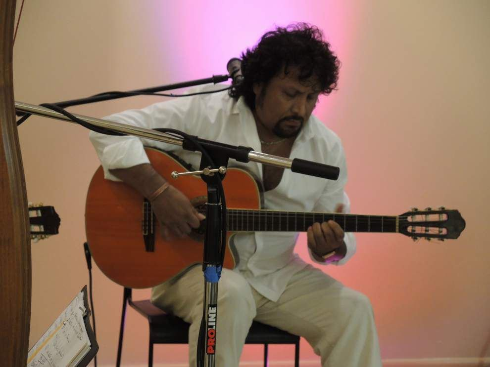'Cool Latin Jazz' heats up Dutchtown library crowd _lowres
