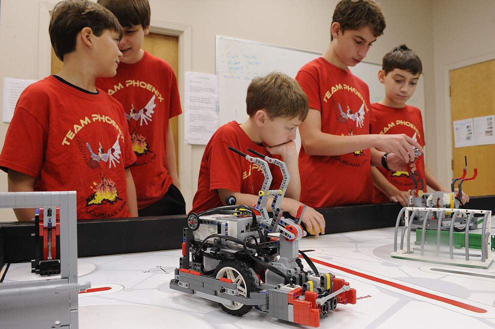Lafayette youth robotics team headed to LEGO international meet _lowres