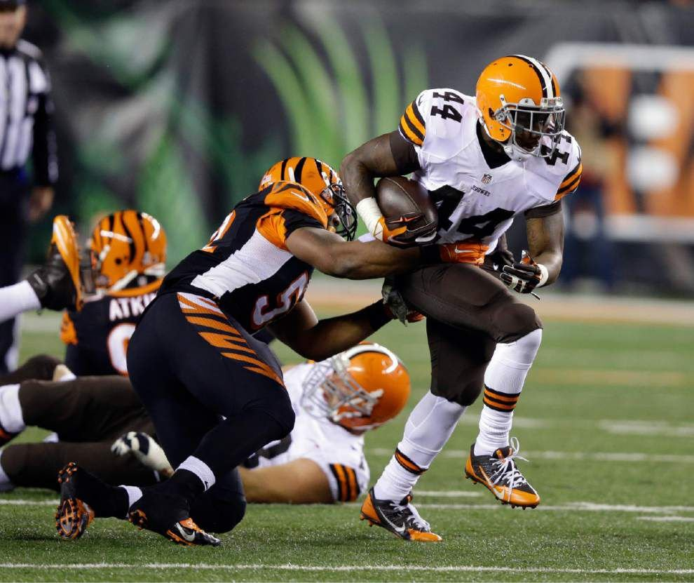 Browns dominate Bengals 24-3 _lowres