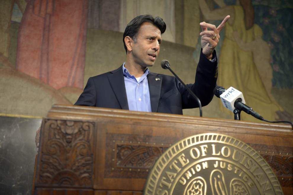 Louisiana Gov. Bobby Jindal on criticized prayer rally: 'It's not a political event; it's a religious event' _lowres