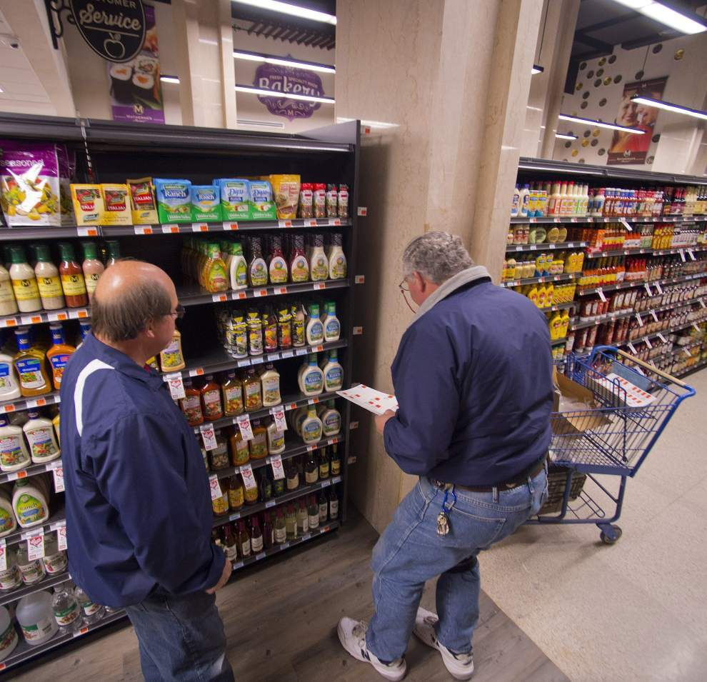 Sneak peek: Customers checking out Matherne's downtown Baton Rouge supermarket _lowres