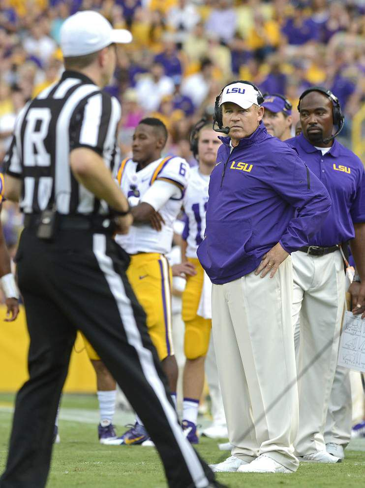 LSU 56, Sam Houston State 0: Three and out _lowres