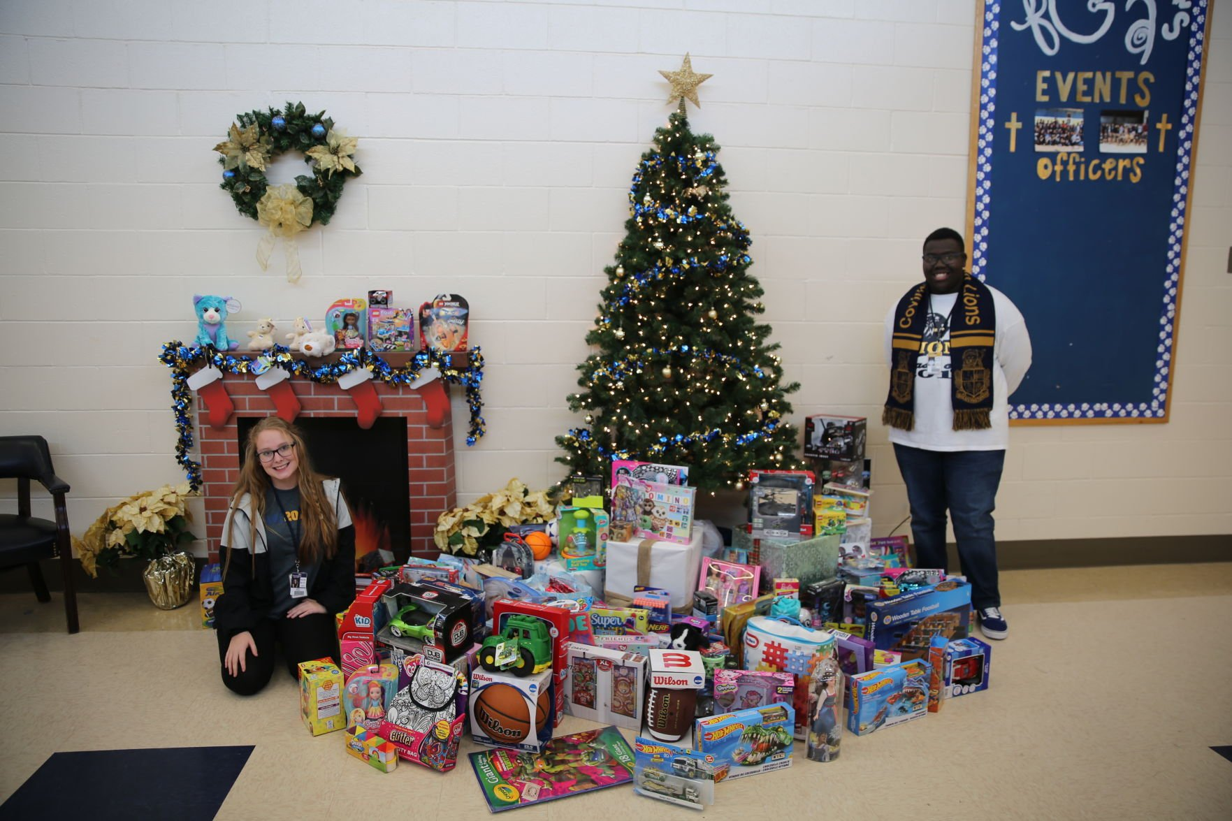 Covington students take time to give back during holiday season