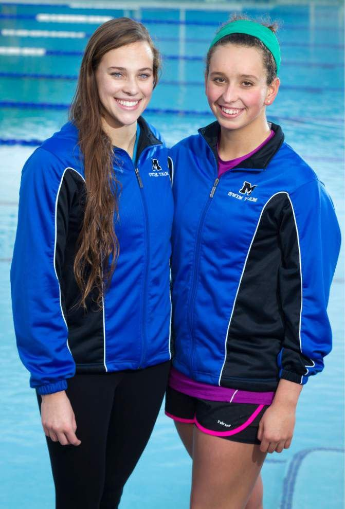 Newman's Jared Williams, Mandeville's Lia Joslin and Megan Loop are The New Orleans Advocate's outstanding high school swimmers for 2014 _lowres