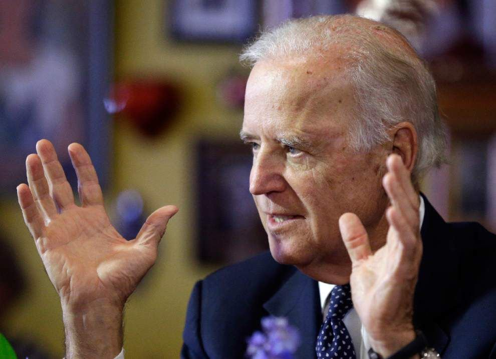 Blunders renew questions about Biden's discipline _lowres
