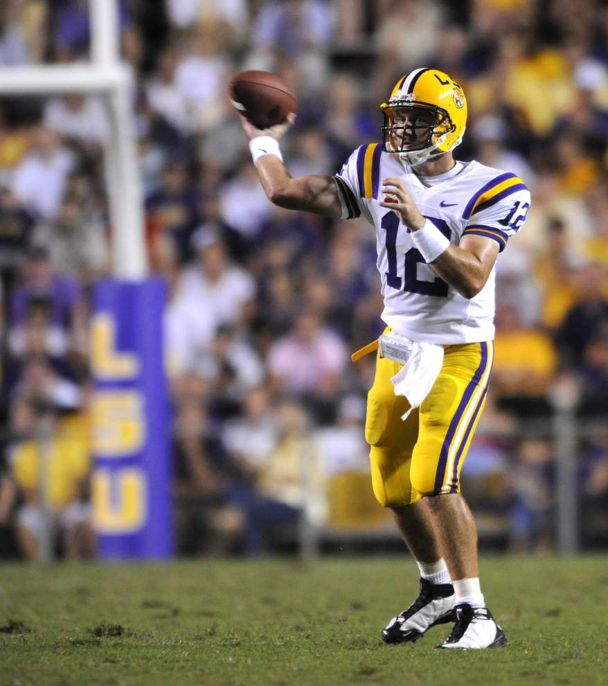 Will LSU use two quarterbacks like it did in 2008? _lowres