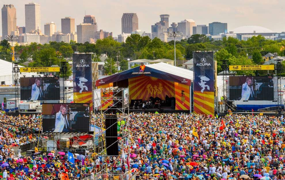 See the 2017 New Orleans Jazz Festival 'cubes,' full schedule of ...