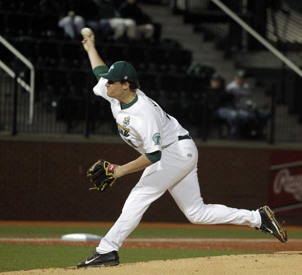 Tulane baseball team visits Cincinnati for pivotal American Athletic Conference series _lowres