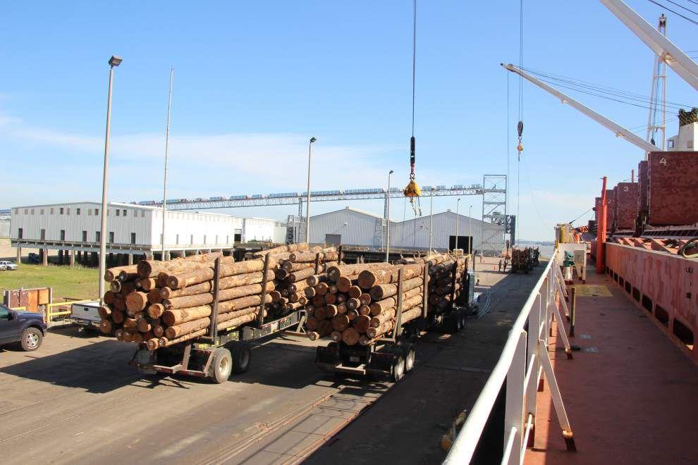 La. exports jump 3.8 percent during first quarter _lowres