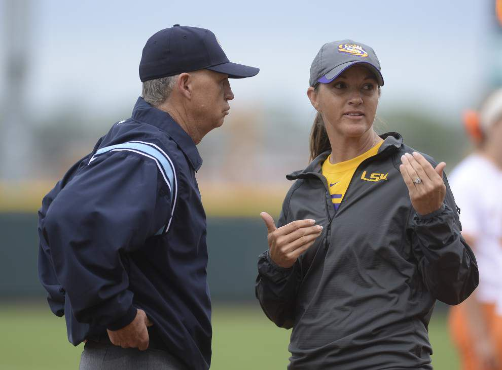 LSU takes practical approach to SEC softball tournament _lowres