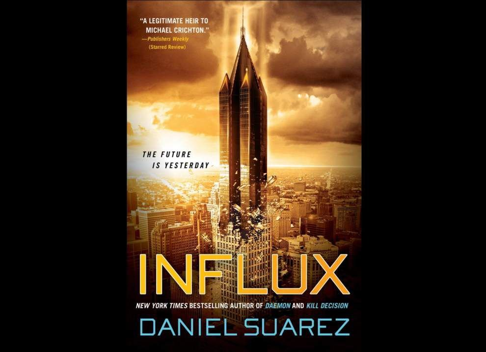 Review: 'Influx' is thought-provoking novel _lowres