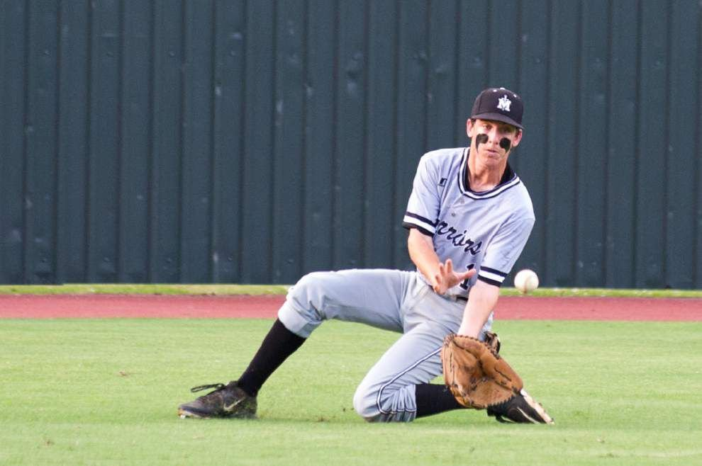 St. Michael falls to St. Thomas More in Class 4A baseball semifinal _lowres