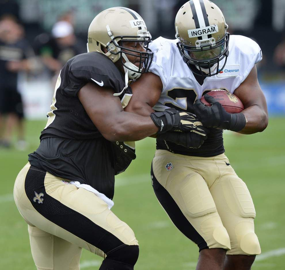 Camp report: Mark Ingram sets lofty career goal _lowres