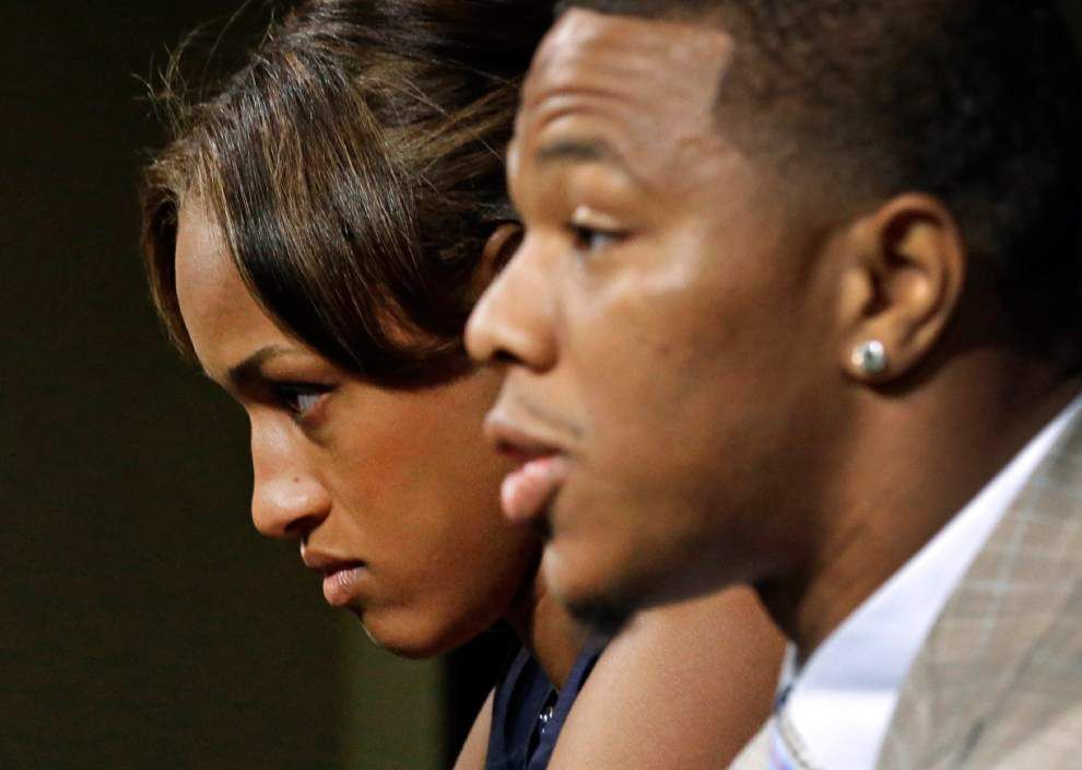 Ravens cut running back Ray Rice after release of video _lowres