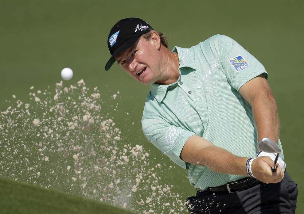 Video: Ernie Els talks golf after 40, TPC Louisiana course _lowres