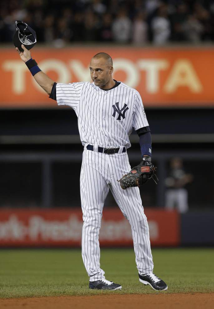 Derek Jeter bows out in the Bronx with a stunning finish _lowres