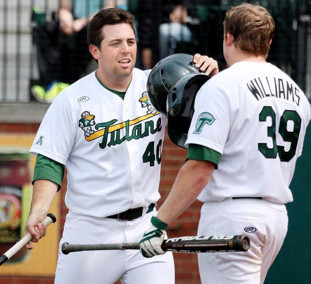 Tulane baseball team blanks Cincinnati behind Corey Merrill and Hunter Williams _lowres