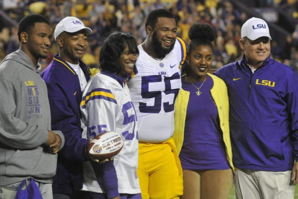 Tiger Tracks blog: Report: Former LSU center Elliott Porter arrested last month _lowres