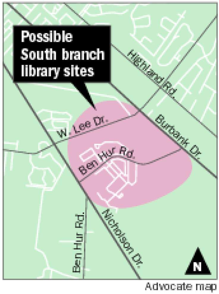 Consultant lists 15 possible sites for new south BR library branch _lowres