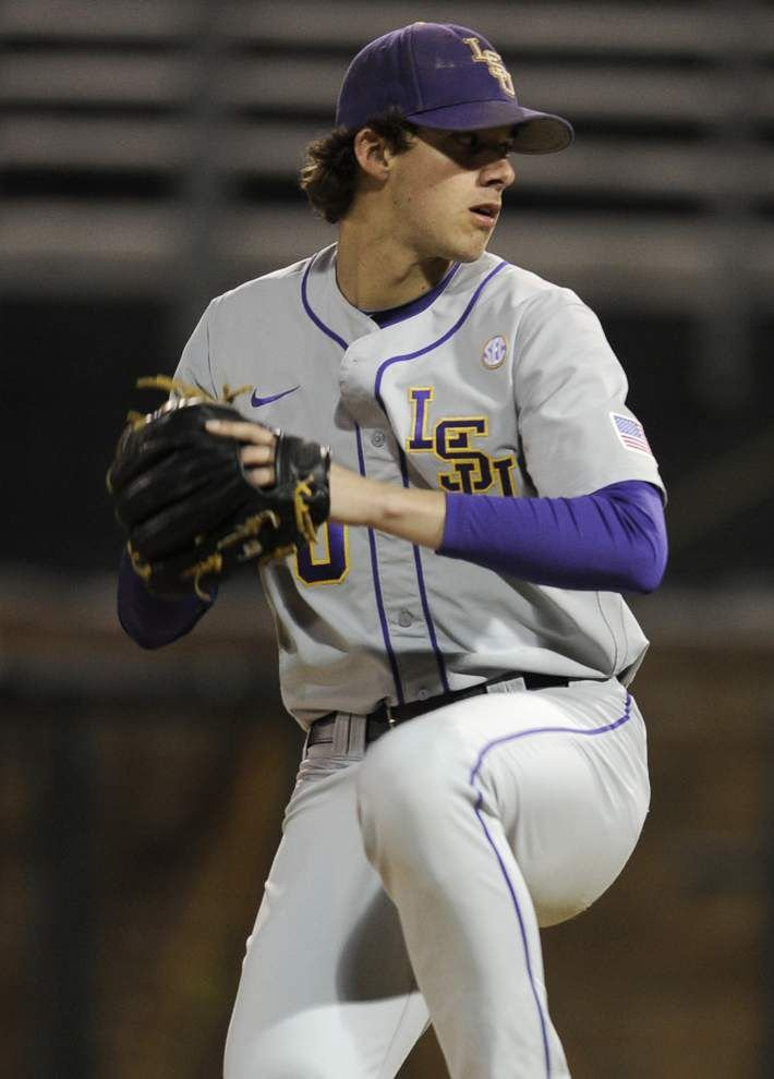 Video: Nola, LSU win big SEC opener at Vanderbilt _lowres