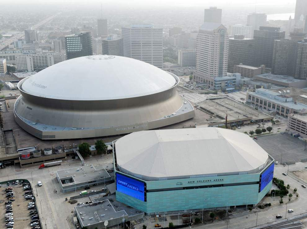 Smoothie king center to get new color scheme news for Mercedes benz in louisiana