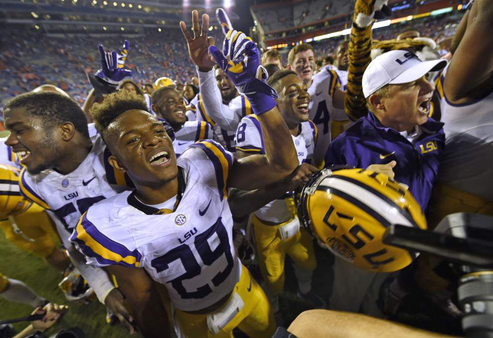 Video: LSU safety Rickey Jefferson says lack of interceptions haunted him until the Florida win _lowres